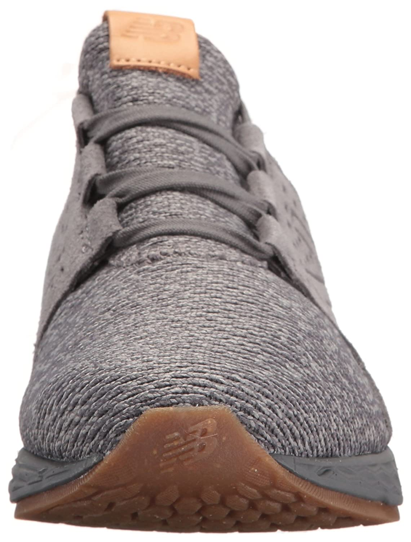 New Balance Women's Fresh Foam Cruz V1 Running Shoe B01MS13AKW 7 D US|Castlerock/Phantom