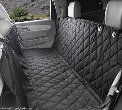 4Knines Rear Bench Seat Waterproof Non Slip Cover With Hammock Lifetime Warranty Regular