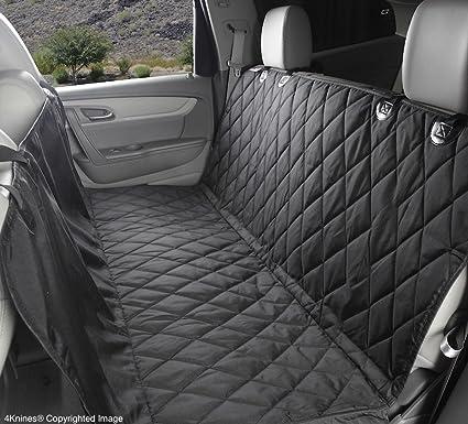 4Knines Rear Bench Seat Waterproof Non Slip Cover With Hammock Lifetime Warranty Regular