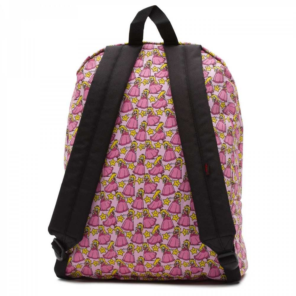 b1155e4041d0 Amazon.com  Vans Nintendo Backpack Princess Peach-Pink-UNICA  Sports    Outdoors