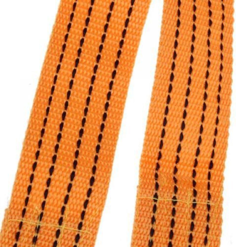 corde de remorquage Yellow NUOLUX D/épanneuses sangle Traction corde avec voiture de crochets fer Forge 3Meter