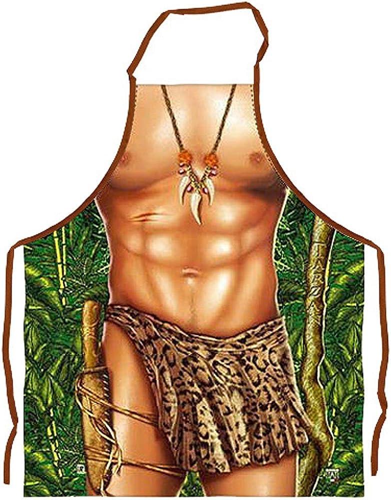 Fun de delantal Tarzan, verde, Talla única: Amazon.es: Ropa y ...