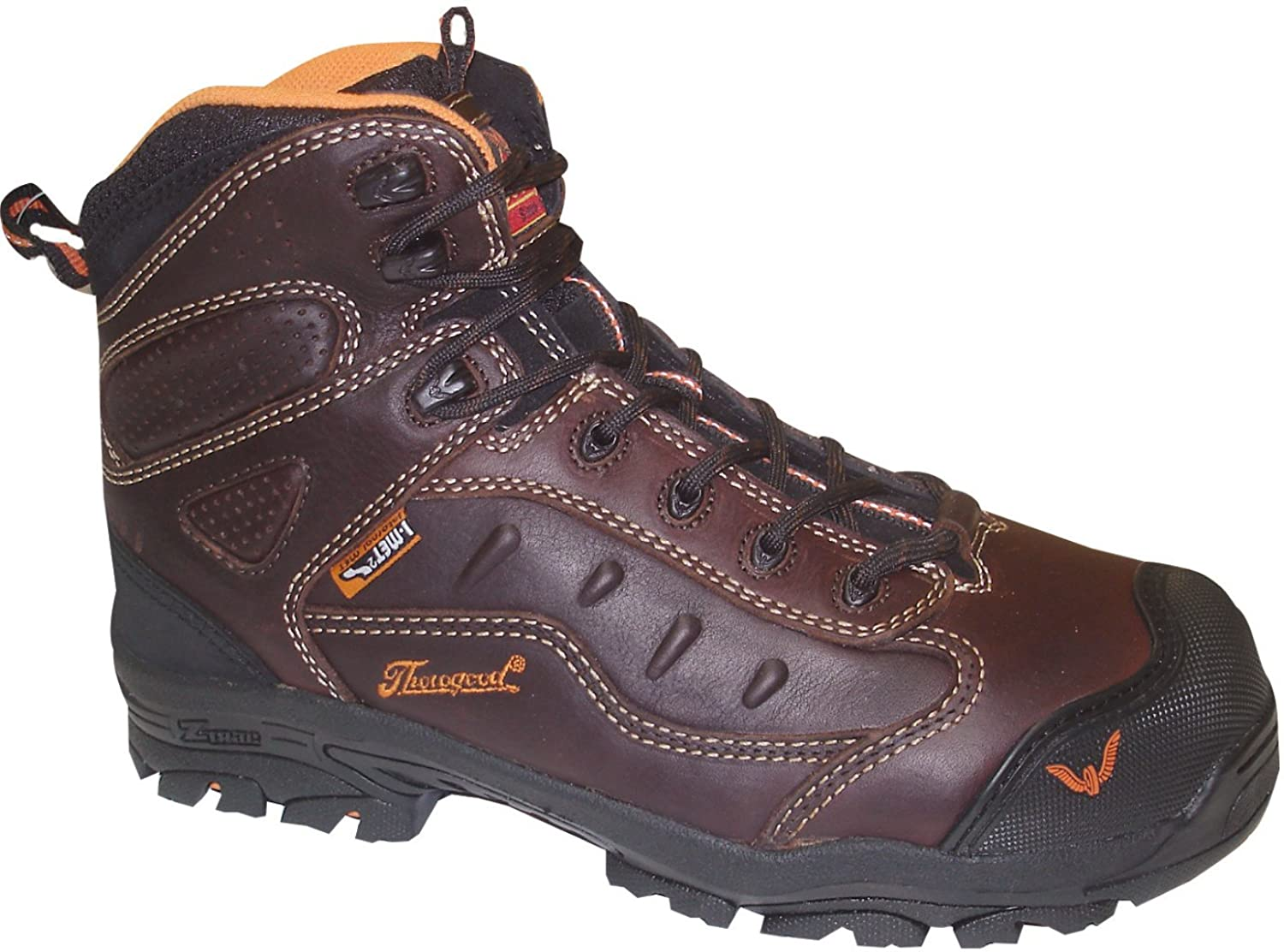 804-4043 Thorogood Men's Sport Z-TRAC Safety Boots - Brown