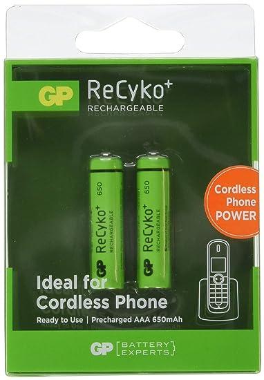 Amazoncom Gp Ni Mh Battery Aaalr03 12v 650mah Gp Nimh Aaa 01