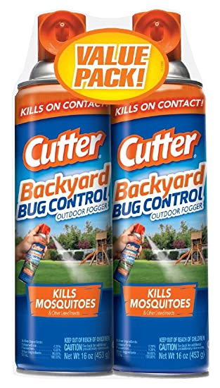 Lovely Cutter Backyard Bug Control Outdoor Fogger,16oz, Pack Of 2