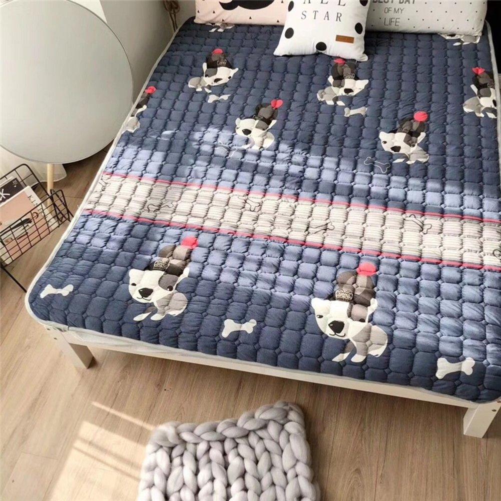 GX&XD Comfortable and portable Tatami floor mat,Keep warm Folding mattress Floor lounger cover Floor mattress Yoga mat Creeping mats Carpet-D 180x200cm(71x79inch)