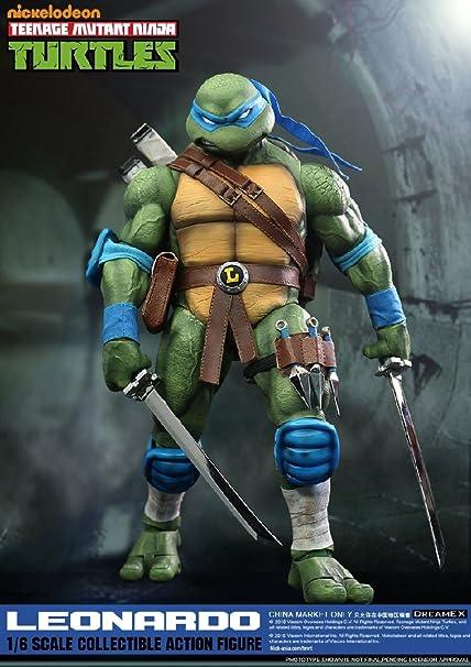 BestGrey DreamEX Toys Nickelodeon Teenage Mutant Ninja Turtles Leonardo 1/6 Scale