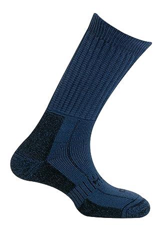 MUND Explorer CO Calcetines de montaña para Hombre, Azul, XL (46-49): Amazon.es: Zapatos y complementos