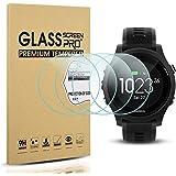 Diruite 4-Pack for Garmin Forerunner 935 Screen Protector Tempered Glass for Forerunner 935 [2.5D 9H Hardness] [Anti…