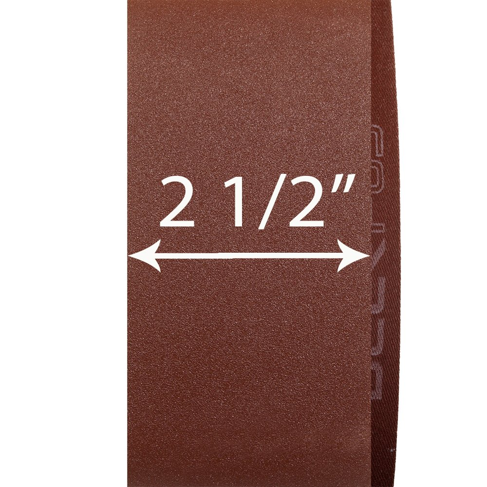 PW6014 KEYSTONE 2-1//2 X 16 SANDING BELT 60X 5 PACK by Peachtree Woodworking