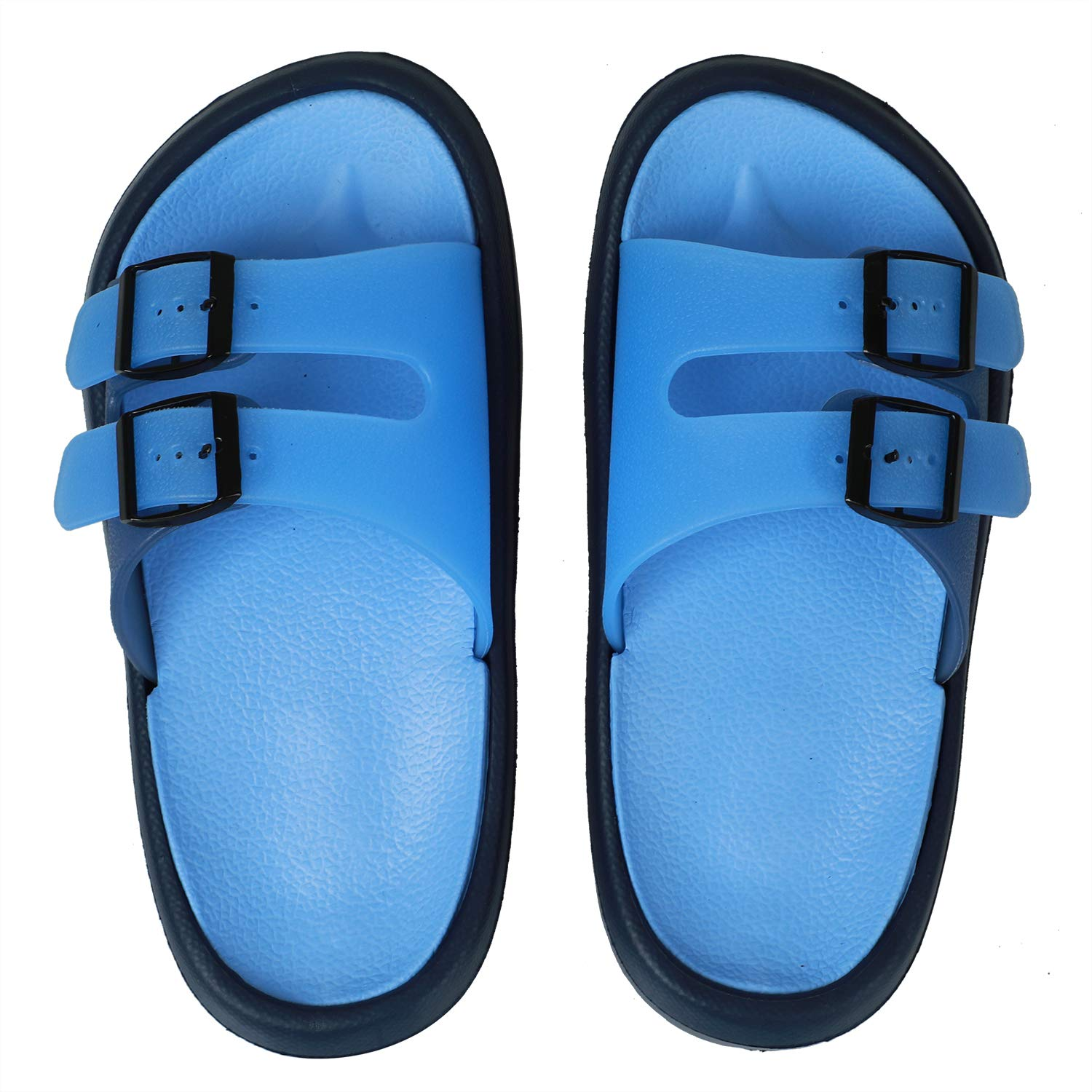 GreatCase Toddler Little Kid Walking Sandals Non-Slip Beach Shoes Lightweight Shower Pool Slippers
