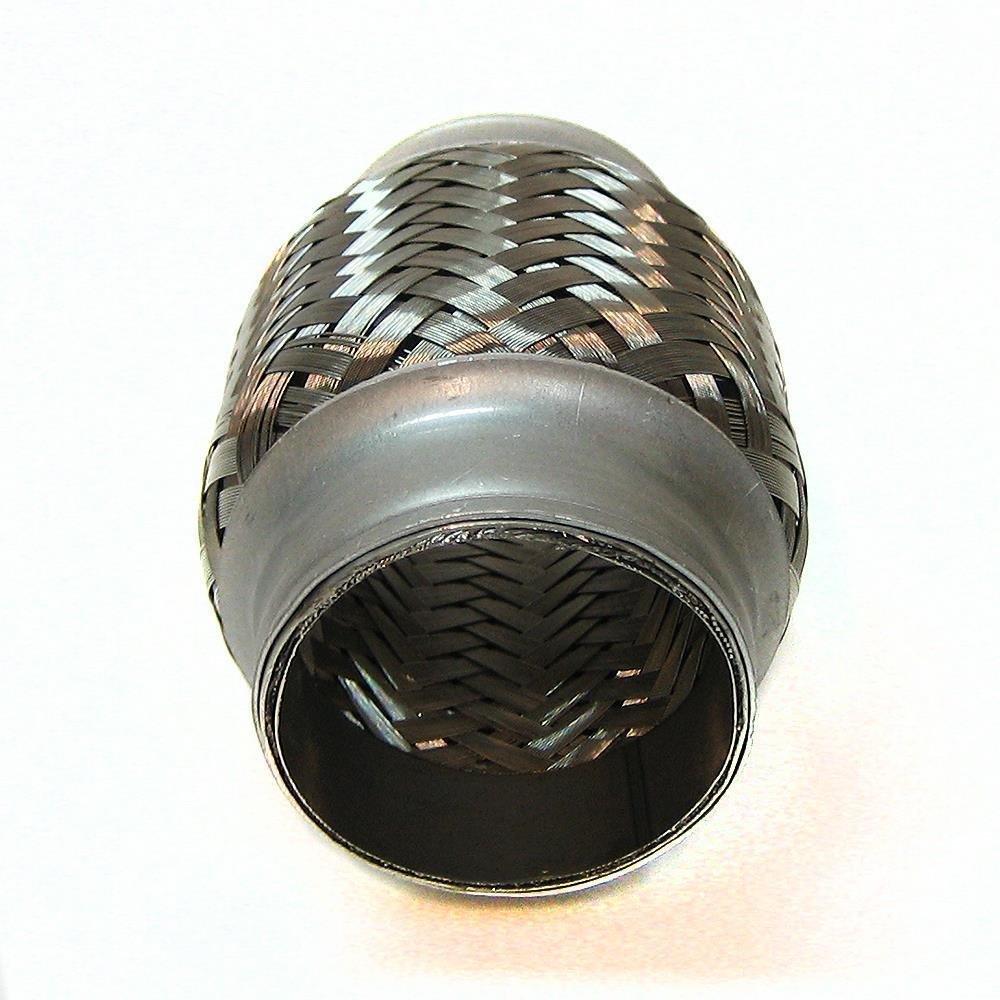 45 X 100mm Flexrohr Flexibles Auspuff Rohr Universal