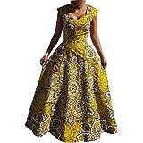 VERWIN Sleeveless Floral Print A-Line Fashion Floor-Length Women's Maxi Dress