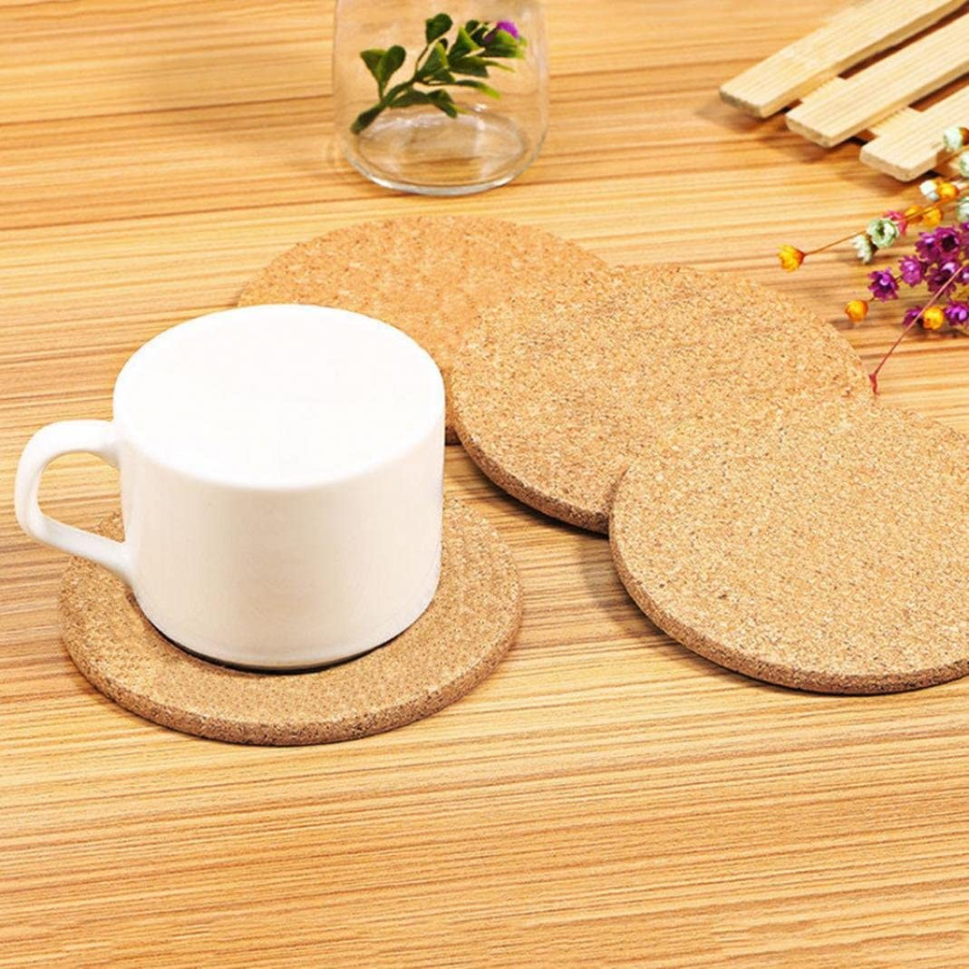 Table Round Coaster Heat Resistant Cup Pot Bowl Mat Kitchen Decor JH