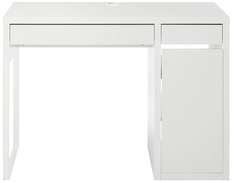 Amazon.com: IKEA computadora, Color blanco, MICKE 802.130.74 ...