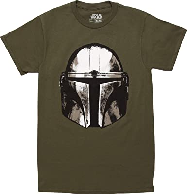 Star Wars Garçons les Mandaloriens Casque écran T-Shirt