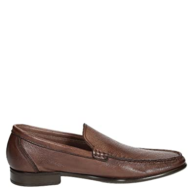 Men's 0694312991 Brown Leather Loafers