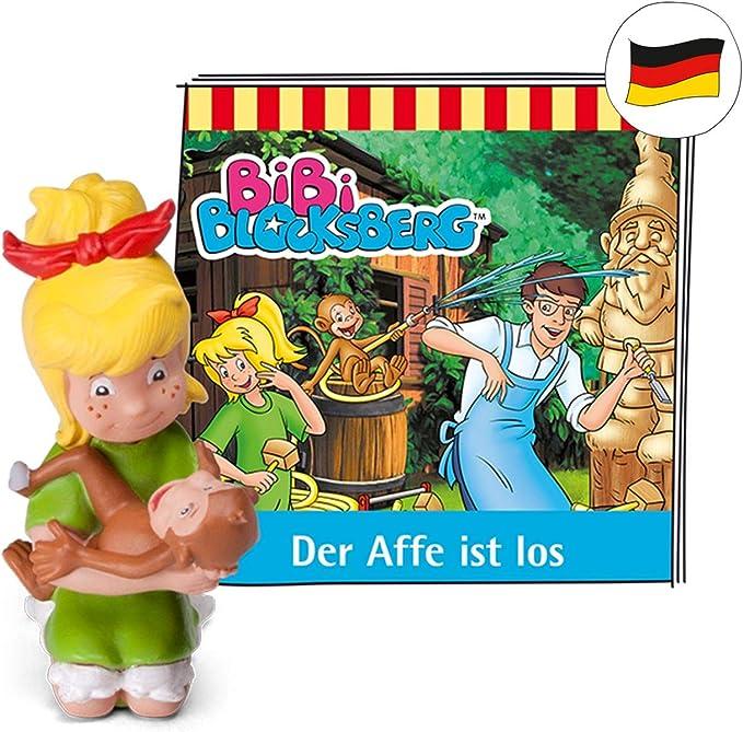tonies Hörfiguren für Toniebox - Bibi Blocksberg - Der AFFE ist los - ca. 44 Min. - Ab 4 Jahre -DEUTSCH