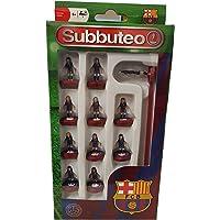 Paul Lamond 3407 Subbuteo Barcelona FC - Juego de Equipo