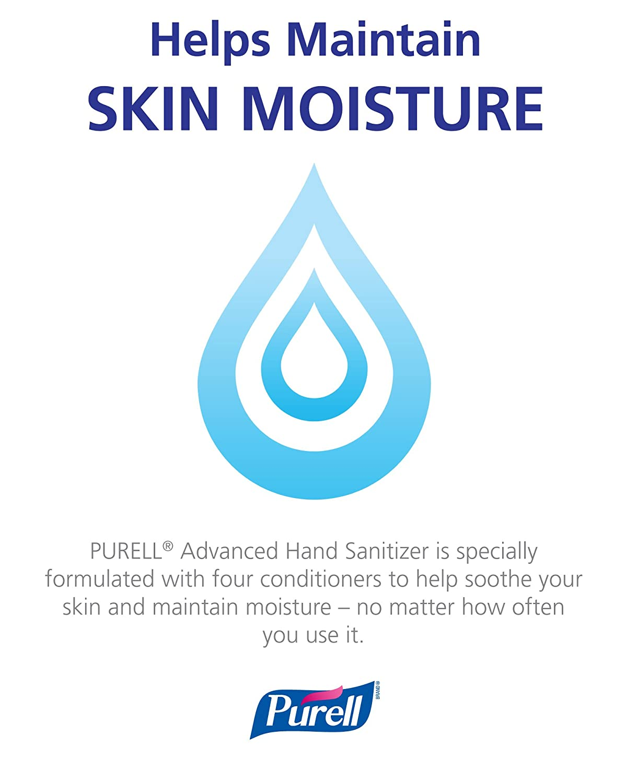 Amazon.com: PURELL 9652-K1 Advanced Hand Sanitizer and Sanitizing ...