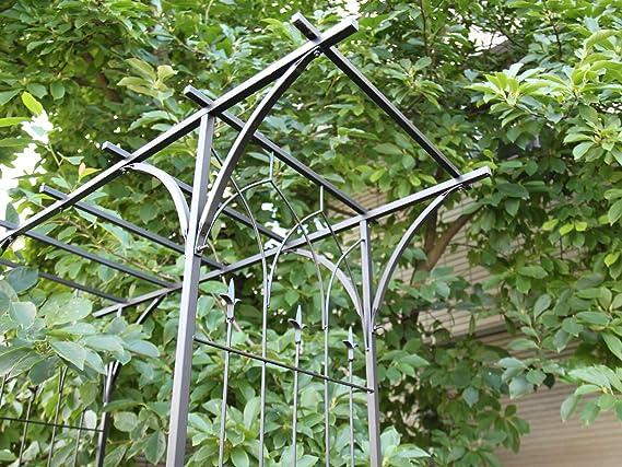 SellingBest - Pagoda para rosales y enredaderas (metal, tamaño ...