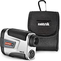 CaddyTek Golf Laser Rangefinder with Pin Seeking and Slope Compensate Distance, CaddyView V2+Slope