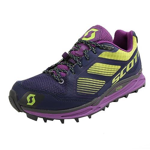 Scott running Zapatilla ws kinabalu supertrac-purple/green-7,5 usa: Amazon.es: Deportes y aire libre