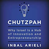 Chutzpah: Why Israel Is a Hub of Innovation and Entrepreneurship