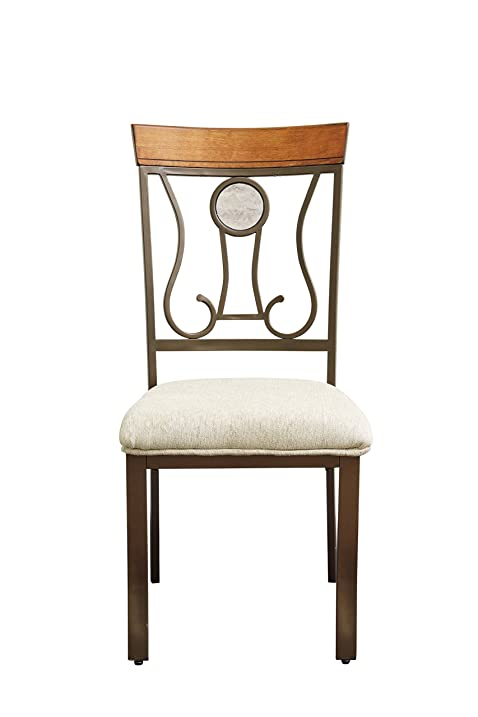 Ashley Furniture Signature Design   Hopstand Dining Room Side Chair   Harp  Back   Set Of
