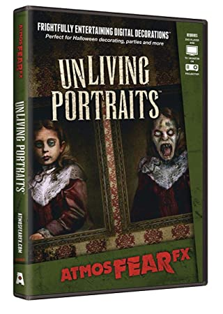 AtmosFX UnLiving Portraits Halloween Digital Decorations