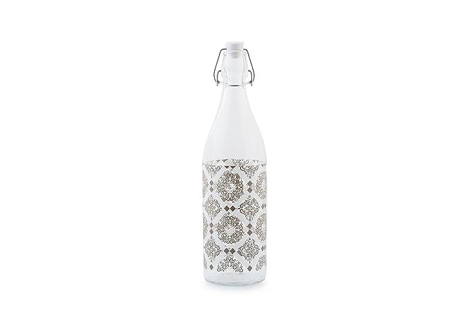 ArredandoCasa bis Botella Pardo 1L con Tapón Blanco sin ...