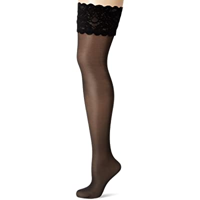Wolford Femme Satin Touch 20 Stay-Up Amiral M 20 DENIER