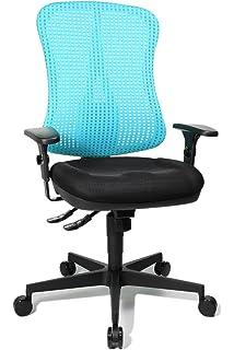 Chaise de bureau bleu turquoise - Topstar chaise de bureau ...