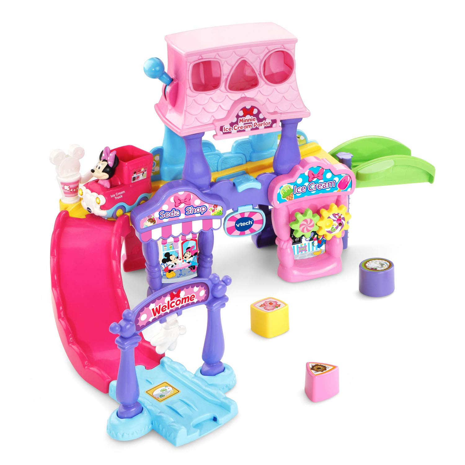 VTech Go! Go! Smart Wheels Minnie Mouse Ice Cream Parlor by VTech (Image #9)
