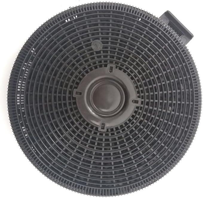 Filtro de carbón activo para varias campanas extractoras Teka, Küppersbusch, Smeg, Electrolux, 19 cm redondo: Amazon.es: Grandes electrodomésticos