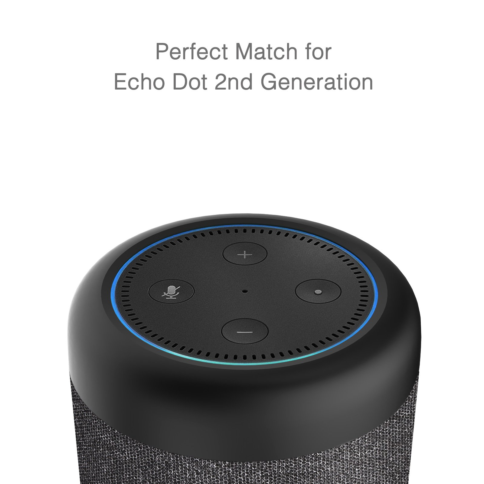 GGMM D6 Portable Speaker for Amazon Echo Dot 2nd Generation, 20W Powerful True 360 Alexa Speakers (DOT SOLD SEPARATELY) by GGMM (Image #4)
