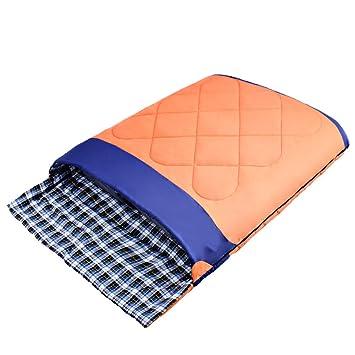 S Holiday Lightweight Envelope Sin Costuras Mochilas Dobles Para Parejas Mochilas Senderismo Camping Sacos