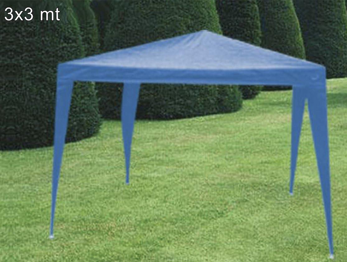 GAEBI Cenador Azul de Nailon 3 x 3: Amazon.es: Jardín