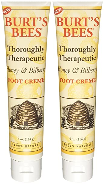 burts bees honey & bilberry foot cream