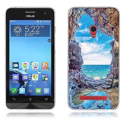 reputable site 68d3f 3c629 Amazon.com: Asus ZenFone A500CG Case, Luxury Ultra-Thin Frame ...