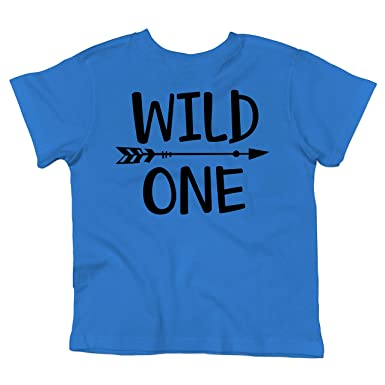 Wild One 1st Birthday Shirt For Boys Boy Smash Cake