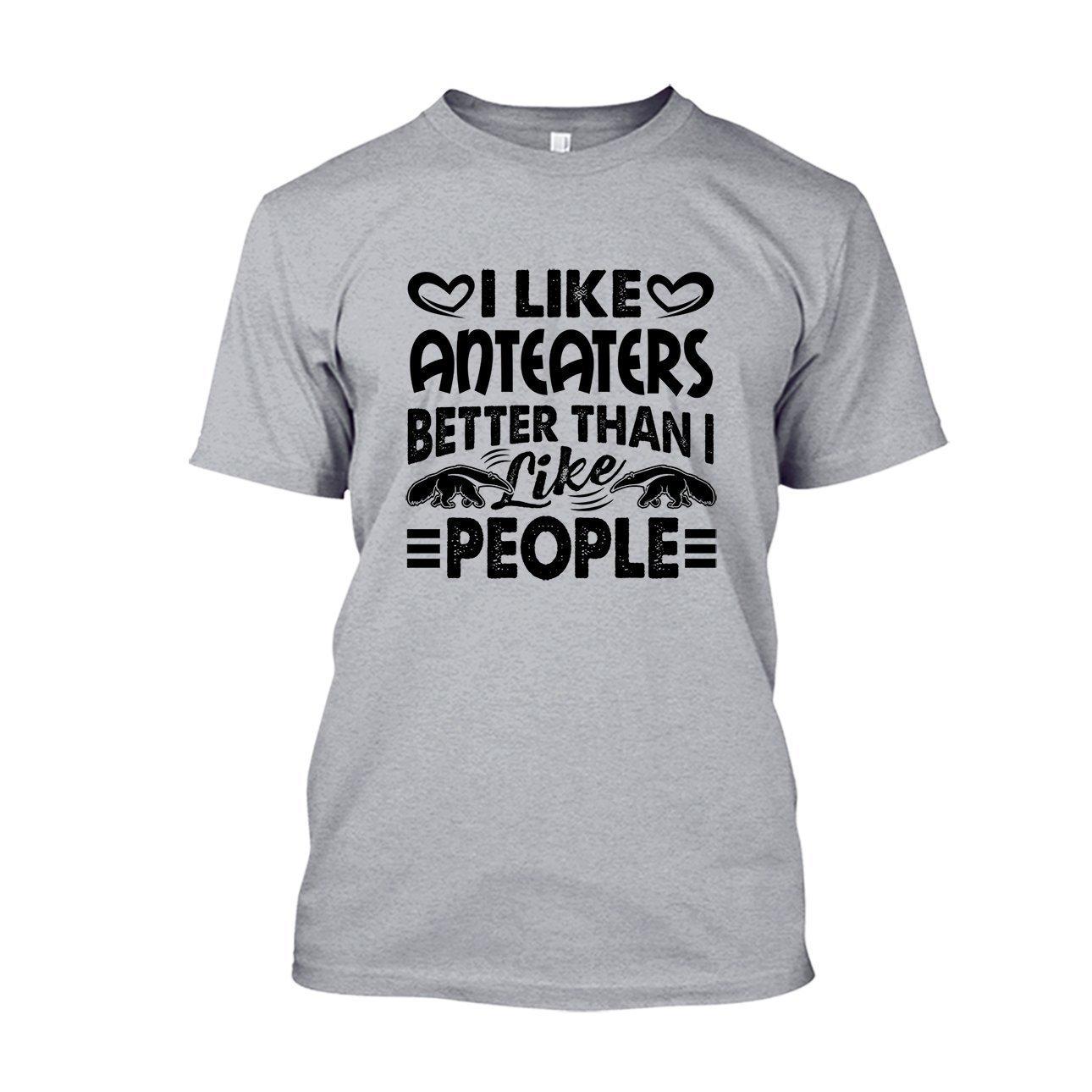Are Blue Cool I Like Anteaters Tshirt Sweatshirt Design