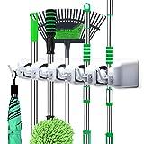 LETMY Broom Holder Wall Mounted - Mop and Broom