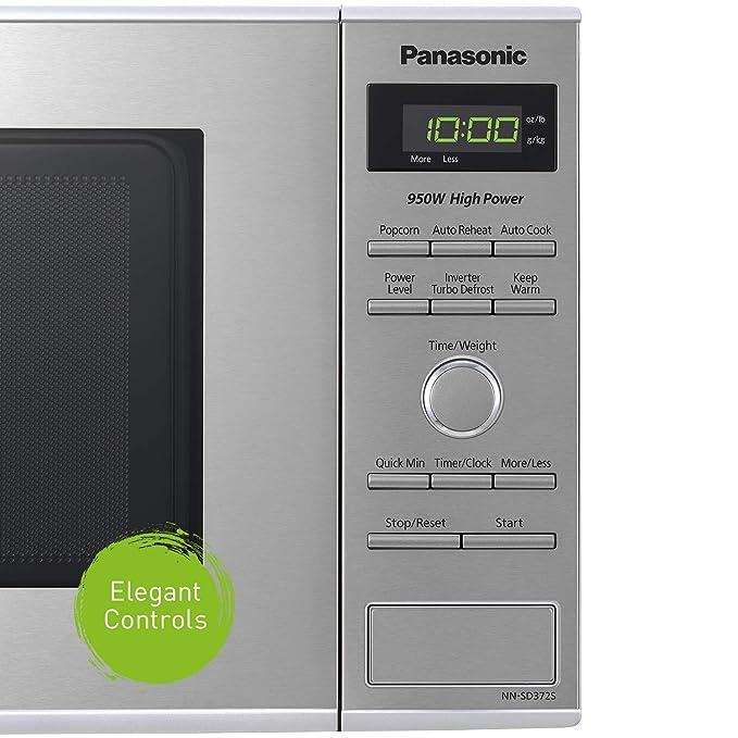 Panasonic NN-SD372S, 1200 W, 120 V, 60 Hz, Acero Inoxidable ...