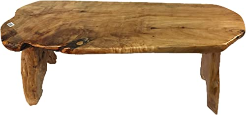Greener Valley Root Wood Live Edge Bench Long