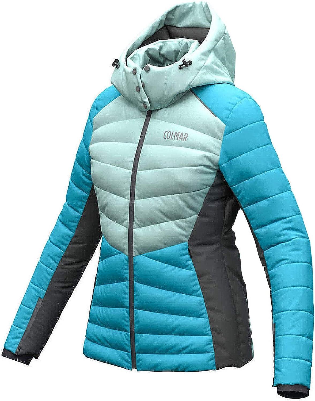 Colmar Ushuaia Damen Skijacke blau Mint grau: