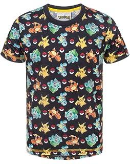 UK SELLER Pokemon Go Boys Girls Unisex Kids T Shirt Pikachu Charmander Squirtle
