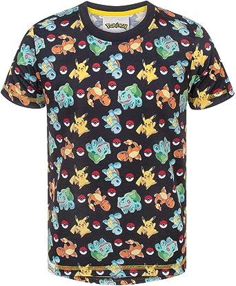Pokemon Starters Sublimation Boys T-Shirt (3-4 Years): Amazon.es: Ropa y accesorios