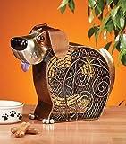 DecoBREEZE Table Fan Two-Speed Electric Circulating Fan, Dog Figurine Fan