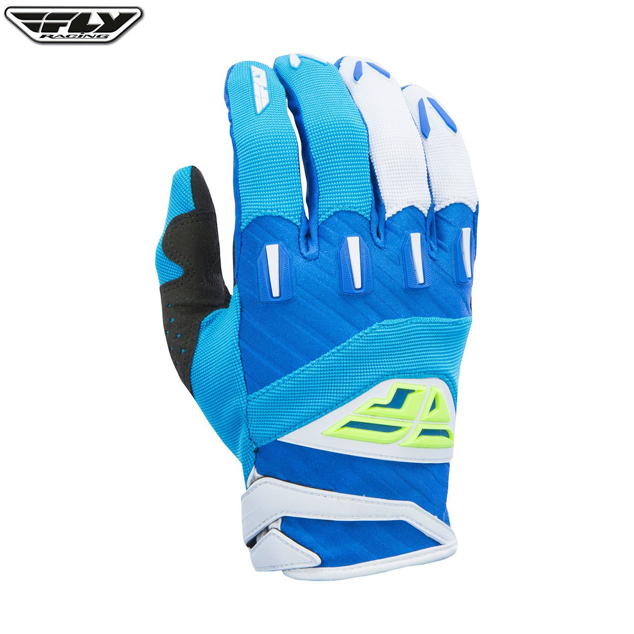 Fly Racing 2017 F-16 ADULT Motocross MX MTB Downhill Gloves Blue//Hi-Viz 08